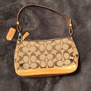 Coach Purse leather & clean interior